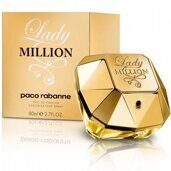 Lady Million Paco Rabanne, 80ml, Edp