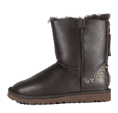 UGG Bailey BackZip Boot Chocolate Light