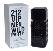 Тестер Carolina Herrera 212 VIP Men Wild Party, 100ml