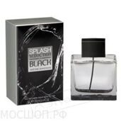 Antonio Banderas Splash Seduction in Black for Men, 100ml, Edt