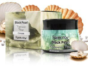 Крем для лица FarmStay Black Pearl Premium Pore, 70 ml