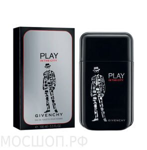 "Givenchy ""Play in the City Man"", 100ml, Edt"