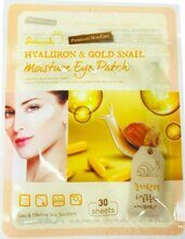 Патчи под глаза Hyaluron and Gold Snail Moisture Eye Patch, SKINAPPLE, 30 шт