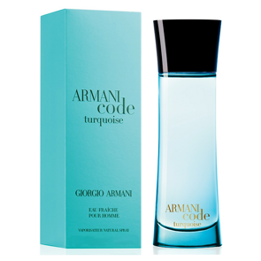 Armani Code Turquoise Pour Homme, 75ml