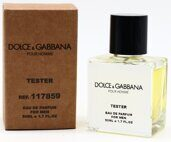 Tester compact Dolce Gabbana Pour Homme Men 50ml Edp