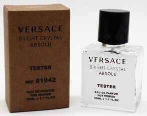 Tester compact Versace Bright Crystal Absolu Women 50ml Edp