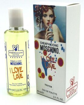 Мини-тестер Moschino Cheap and Chic I Love Love, 65ml