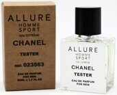Tester compact Chanel Allure Homme Sport Extreme Men 50ml Edp