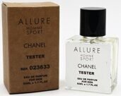Tester compact Chanel Allure Homme Sport Men 50ml Edp