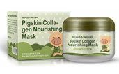 Маска Bioaqua Pigskin Collagen Nourishing Mask, 100g